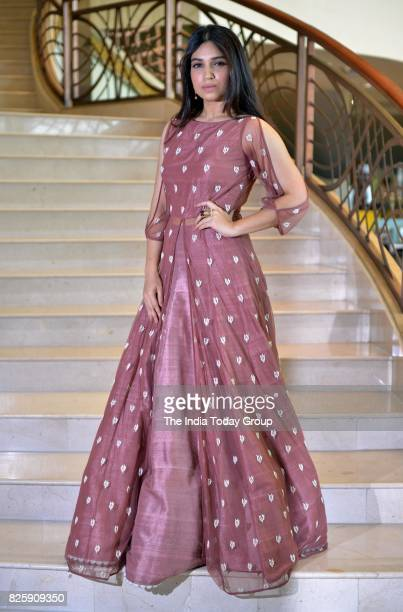 Bhumi Pednekar during the trailer launch of the film Shubh Mangal Saavdhan in Mumbai