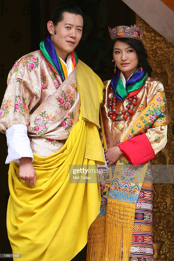 Bhutan King Wedding : News Photo