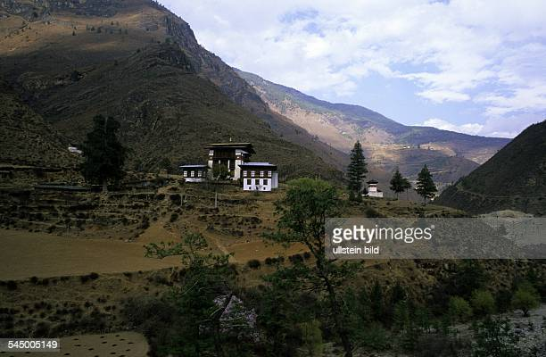 Paro valley a dwelling house