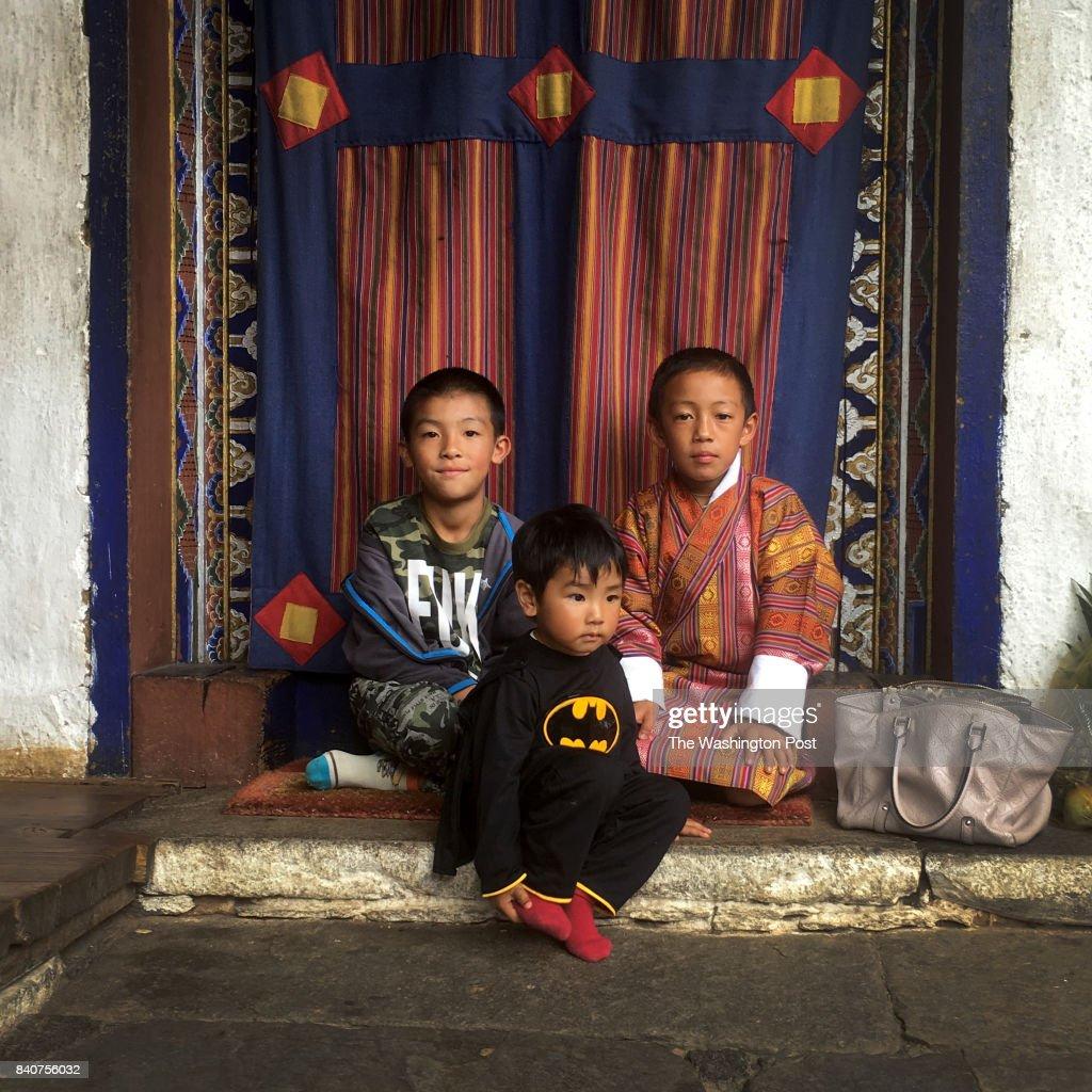 PARO, Bhutan. The tiny Himalayan nation of Bhutan was thrust in : News Photo