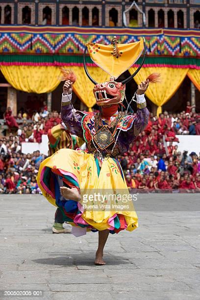 bhutan, thimphu buddhist festival - thimphu stock pictures, royalty-free photos & images