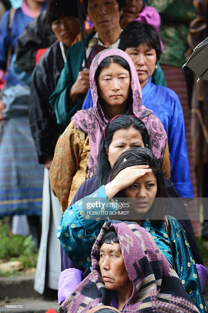BHUTAN-VOTE-ELECTION : News Photo