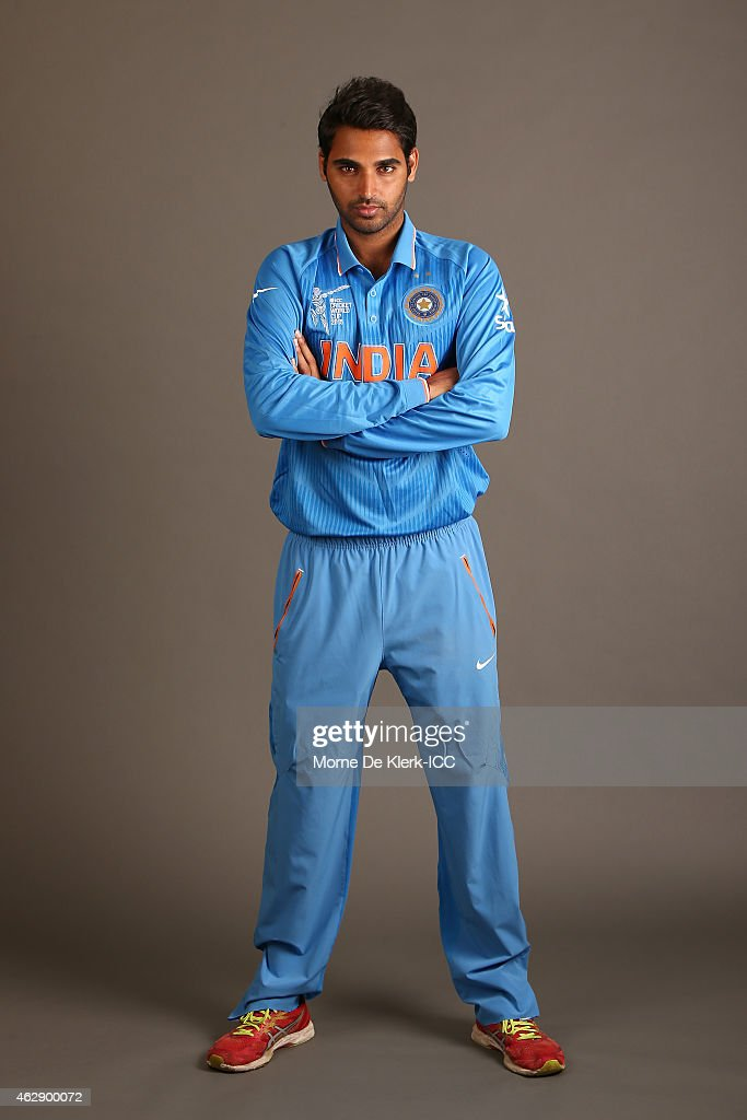 India 2015 ICC Cricket World Cup Headshots Session