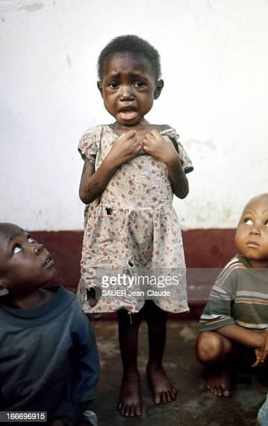 Biafra War Au Biafra le comble de l'horreur les Ibos sont en cours d'extermination Enfants souffrant de malnutrition Juillet 1968