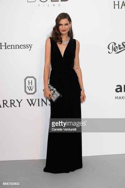 Bianca Balti arrives at the amfAR Gala Cannes 2017 at Hotel du Cap-Eden-Roc on May 25, 2017 in Cap d'Antibes, France.