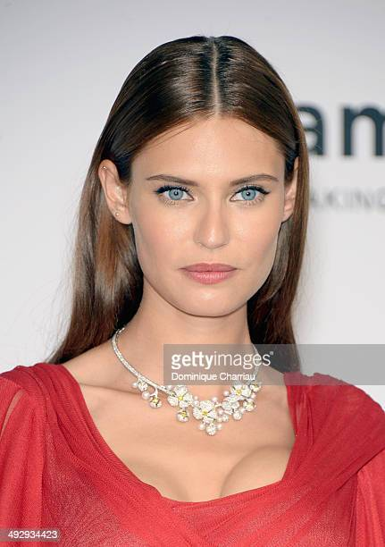 Bianca Balti attends amfAR's 21st Cinema Against AIDS Gala Presented By WORLDVIEW BOLD FILMS And BVLGARI at Hotel du CapEdenRoc on May 22 2014 in Cap...