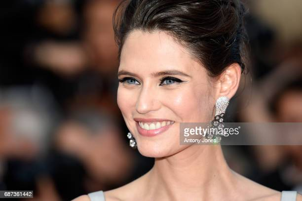 Bianca Balti attends the 70th Anniversary screening during the 70th annual Cannes Film Festival at Palais des Festivals on May 23, 2017 in Cannes,...