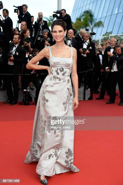 Bianca Balti attends the 70th Anniversary screening during the 70th annual Cannes Film Festival at Palais des Festivals on May 23 2017 in Cannes...