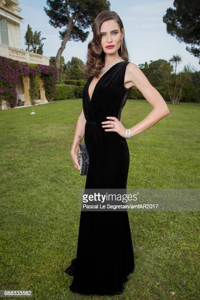 Bianca Balti attends the amfAR Gala Cannes 2017 at Hotel du CapEdenRoc on May 25 2017 in Cap d'Antibes France