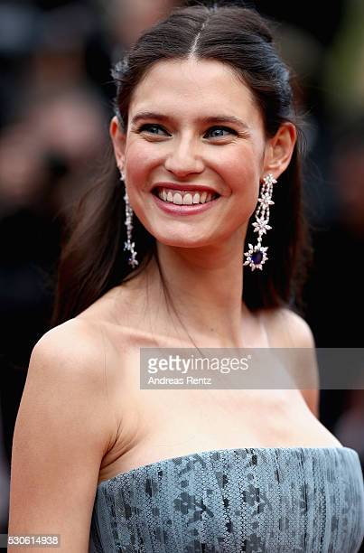 Bianca Balti attends the 'Cafe Society' premiere and the Opening Night Gala during the 69th annual Cannes Film Festival at the Palais des Festivals...