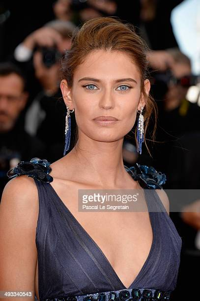 """Bianca Balti attends the """"Clouds Of Sils Maria"""" premiere during the 67th Annual Cannes Film Festival on May 23, 2014 in Cannes, France."""