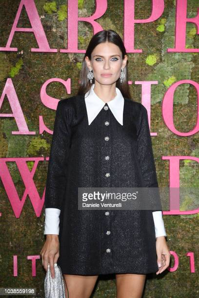 Bianca Balti attends the Green Carpet Fashion Awards at Teatro Alla Scala on September 23, 2018 in Milan, Italy.