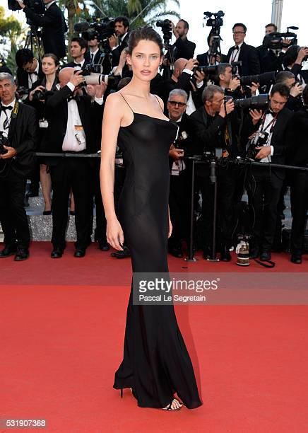 """Bianca Balti attends the """"Julieta"""" premiere during the 69th annual Cannes Film Festival at the Palais des Festivals on May 17, 2016 in Cannes, France."""