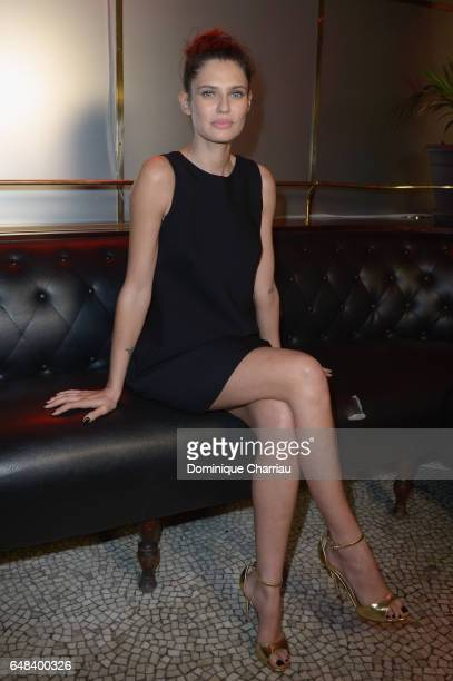 Bianca Balti attends the 'L'Oreal Paris Dinner Hosted By Julianne Moore' as part of the Paris Fashion Week Womenswear Fall/Winter 2017/2018 on March...