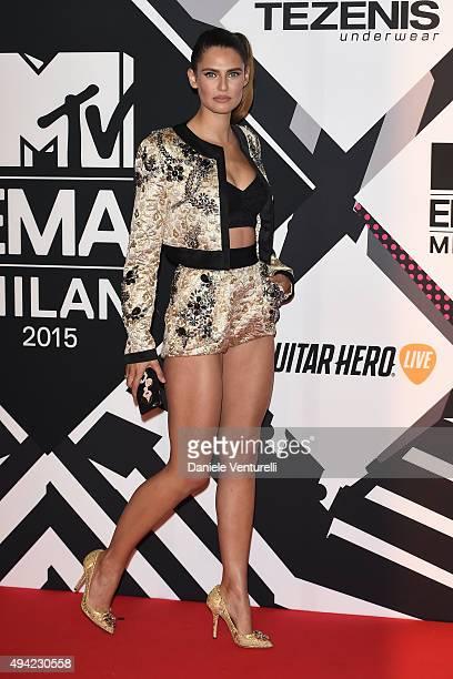 Bianca Balti attends the MTV EMA's 2015 at Mediolanum Forum on October 25, 2015 in Milan, Italy.