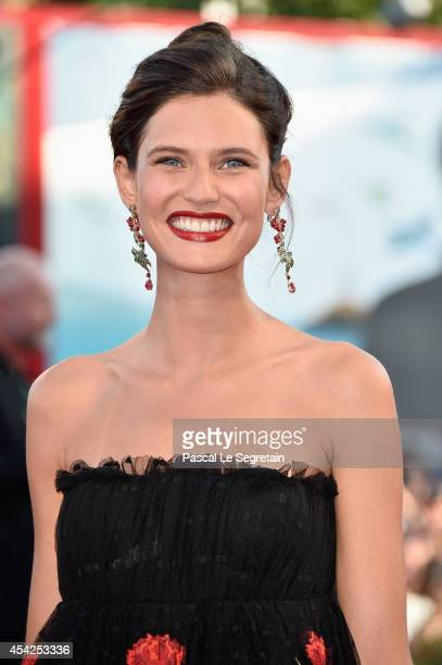 Bianca Balti attends the Opening Ceremony and 'Birdman' premiere during the 71st Venice Film Festival on August 27 2014 in Venice Italy