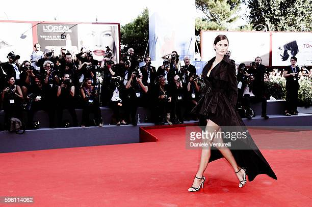 Bianca Balti attends the opening ceremony and premiere of 'La La Land' during the 73rd Venice Film Festival at Sala Grande on August 31, 2016 in...