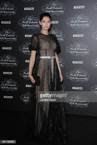 Bianca Balti attends The Pirelli Calendar 50th Anniversary - Red Carpet on November 21, 2013 in Milan, Italy.
