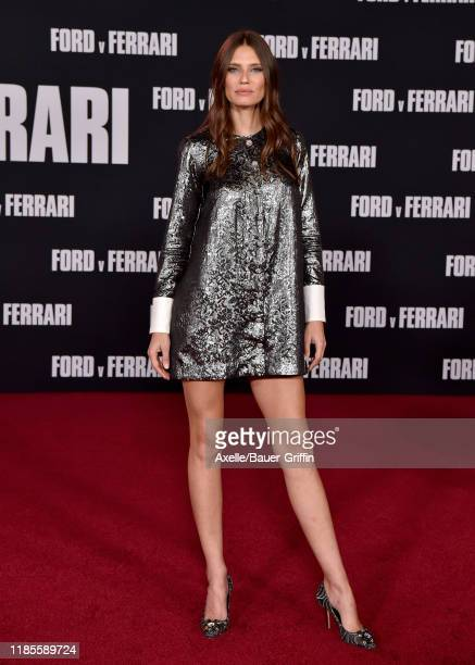 Bianca Balti attends the Premiere of FOX's Ford v Ferrari at TCL Chinese Theatre on November 04 2019 in Hollywood California