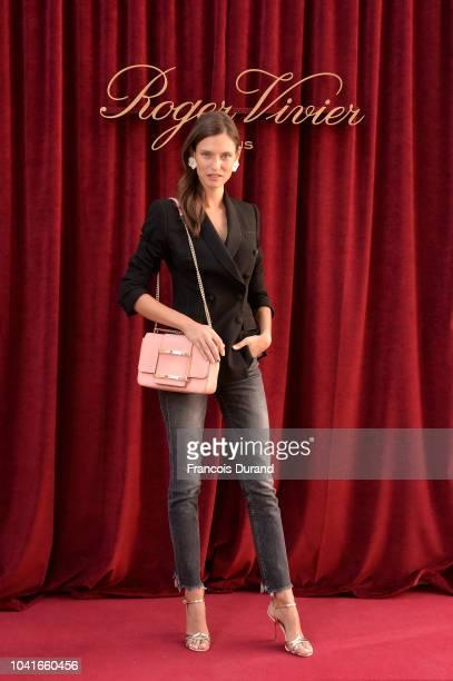 Bianca Balti attends the Roger Vivier Presentation Spring/Summer 2019 during Paris Fashion Week on September 27 2018 in Paris France