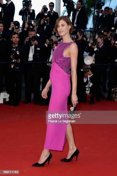 Bianca Balti attends the 'The Immigrant' premiere during The 66th Annual Cannes Film Festival at the Palais des Festivals on May 24 2013 in Cannes...