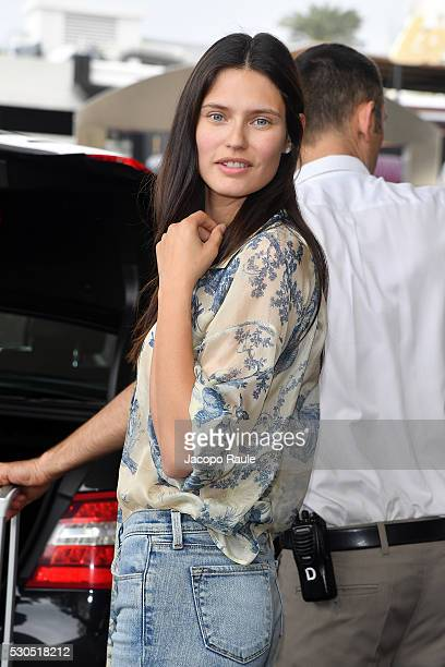 Bianca Balti is seen arriving at Hotel Martinez during the annual 69th Cannes Film Festival at on May 11, 2016 in Cannes, France.