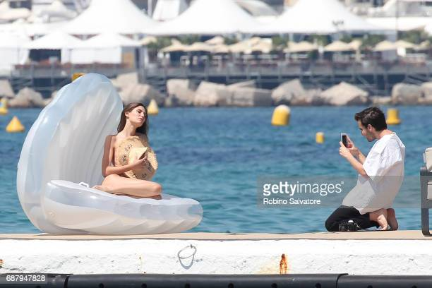 Bianca Balti is seen during the 70th annual Cannes Film Festival at on May 24 2017 in Cannes France