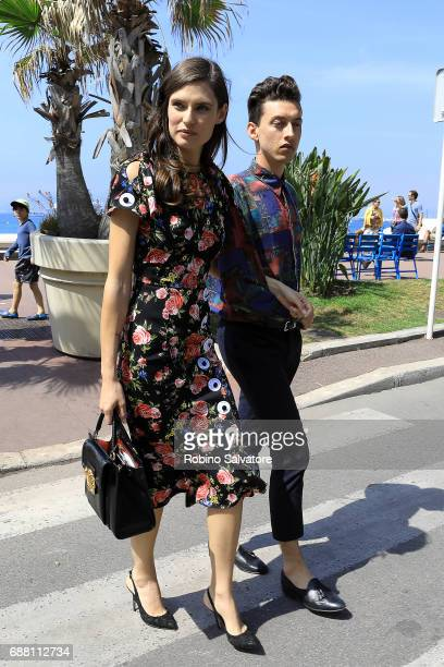 Bianca Balti is spotted during the 70th annual Cannes Film Festival at on May 25 2017 in Cannes France