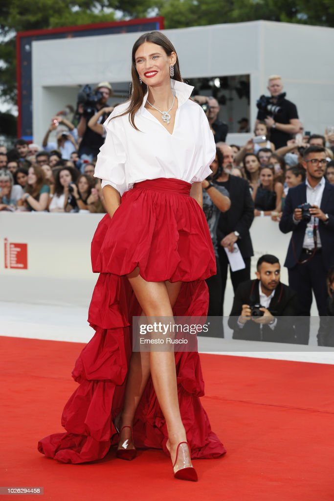 The Sisters Brothers Red Carpet Arrivals - 75th Venice Film Festival : News Photo