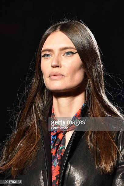 Bianca Baltiwalks the runway for the Rag & Bone fashion show during February 2020 - New York Fashion Week: The Shows on February 07, 2020 in New York...