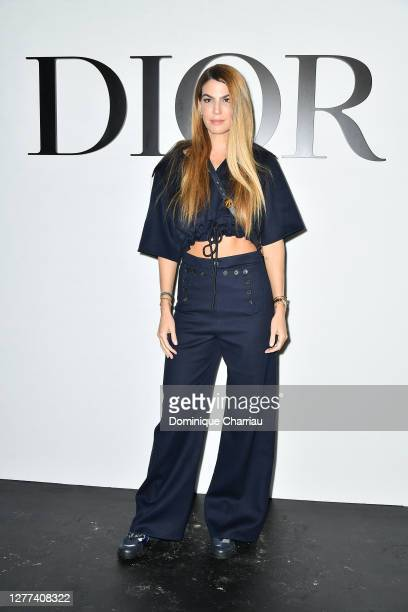 Bianca Brandolini attends the Dior Womenswear Spring/Summer 2021 show as part of Paris Fashion Week on September 29, 2020 in Paris, France.