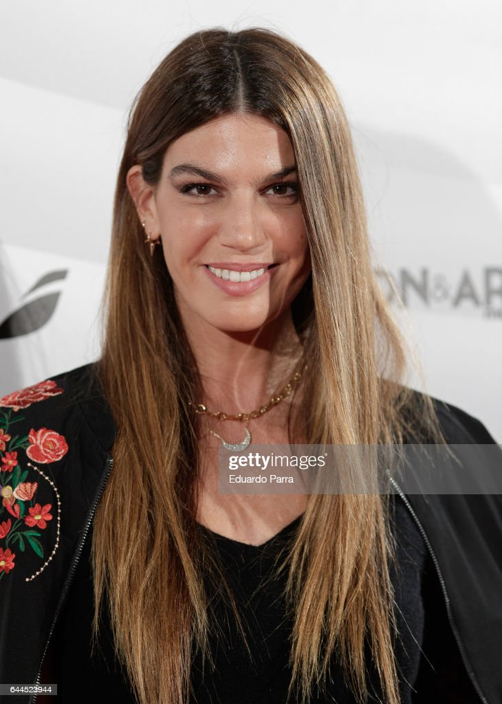Bianca Brandolini attends the 'Fashion & arts' photocall at Reina Sofia museum on February 23, 2017 in Madrid, Spain.