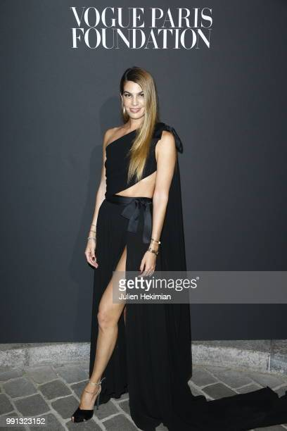 Bianca Brandolini attends Vogue Foundation Dinner Photocall as part of Paris Fashion Week Haute Couture Fall/Winter 20182019 at Musee Galliera on...