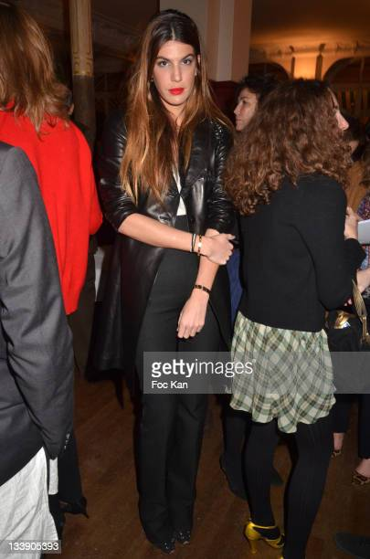 Bianca Brandolini d'Ada attends the Christian Louboutin 20th Anniversary Book Launch at Christian Louboutin - Galerie Vero-Dodat and After at Maceo...