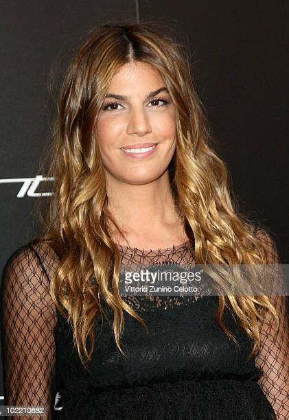 Bianca Brandolini D'Adda attends A Casa Di Lapo cocktail party as part of Milan Fashion Week Menswear S/S 2011 on June 18 2010 in Milan Italy