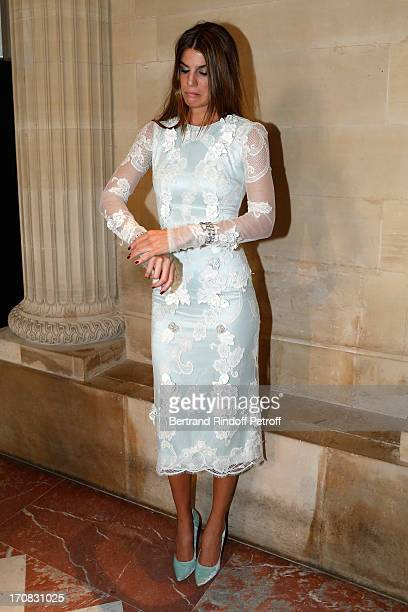 Bianca Brandolini d'Adda attends 'Liaisons Au Louvre III' Charity Gala Dinner Hosted by American International Friends of Le Louvre at Cour Carree du...