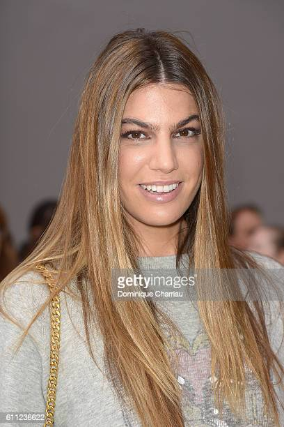 Bianca Brandolini d'Adda attends the Chloe show as part of the Paris Fashion Week Womenswear Spring/Summer 2017 on September 29 2016 in Paris France