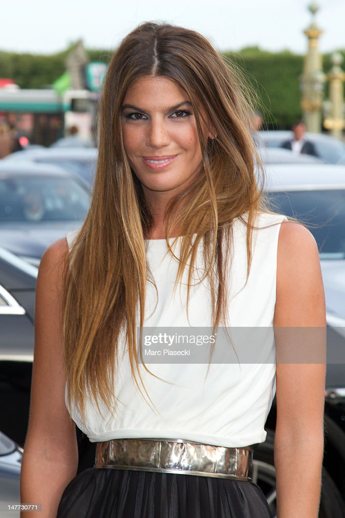 Bianca Brandolini d'Adda attends the Giambattista Valli Haute-Couture Show as part of Paris Fashion Week Fall / Winter 2013 at Hotel Crillon on July 2, 2012 in Paris, France.
