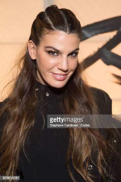 Bianca Brandolini d'Adda attends the HM show as part of the Paris Fashion Week Womenswear Fall/Winter 2018/2019 on February 28 2018 in Paris France