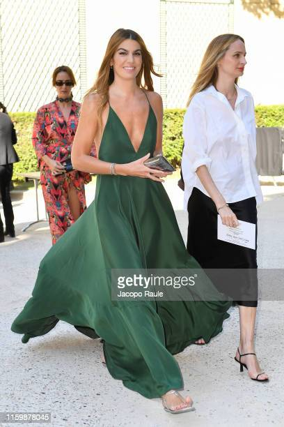 Bianca Brandolini D'Adda attends the Valentino Haute Couture Fall/Winter 2019 2020 show as part of Paris Fashion Week on July 03 2019 in Paris France