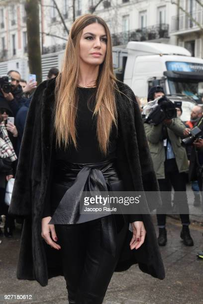 Bianca Brandolini d'Adda attends the Valentino show as part of the Paris Fashion Week Womenswear Fall/Winter 2018/2019 on March 4 2018 in Paris France