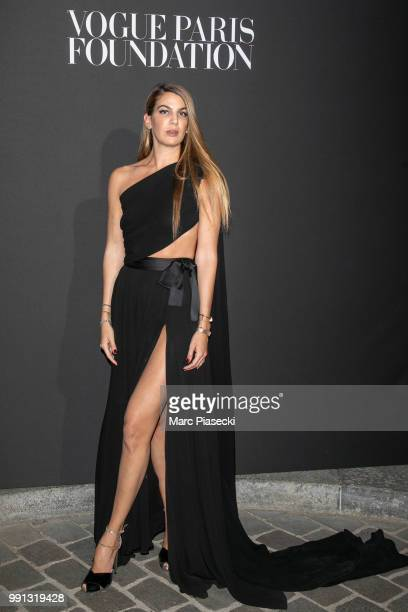 Bianca Brandolini d'Adda attends the Vogue Foundation Dinner Photocall as part of Paris Fashion Week Haute Couture Fall/Winter 20182019 at Musee...