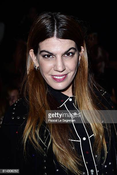 Bianca Brandolini d'Addda attends the Valentino show as part of the Paris Fashion Week Womenswear Fall/Winter 2016/2017 on March 8 2016 in Paris...
