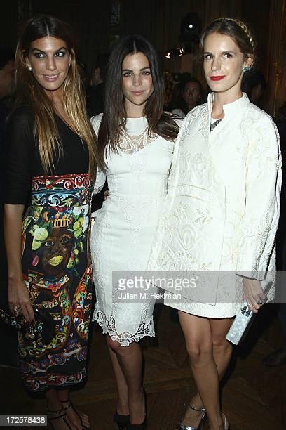 Bianca Brandolini Julia Restoin Roitfeld and Eugenie Niarchos attend the Founder And CEO Alessandro Savelli And Contemporary Style Icon Julia Restoin...