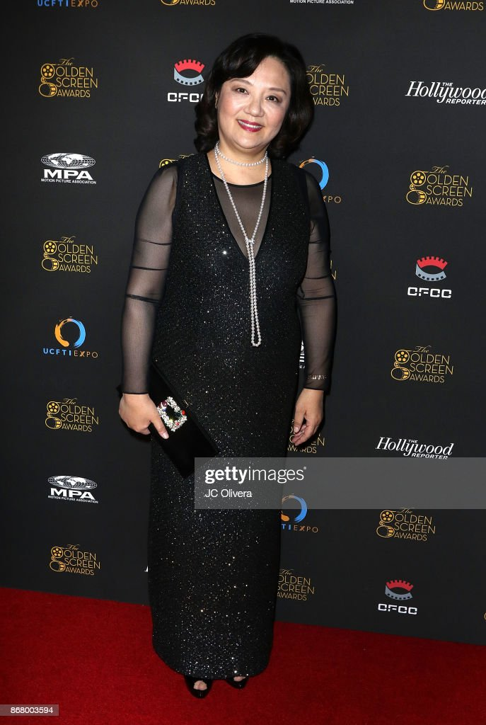 Bianca Chen Attends The 2nd Annual Golden Screen Awards