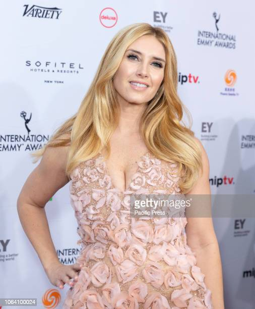Bianca de la Garza attends the 46th Annual International Emmy Awards at New York Hilton