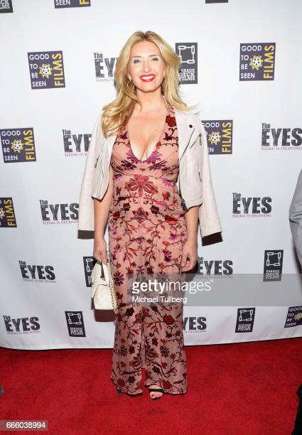 Bianca de la Garza attends the premiere of Parade Deck Films' The Eyes at Arena Cinelounge on April 7 2017 in Hollywood California