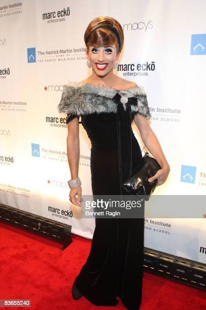 Bianca del Rio attends the 2008 Emery Awards at Cipriani on November 11 2008 in New York City