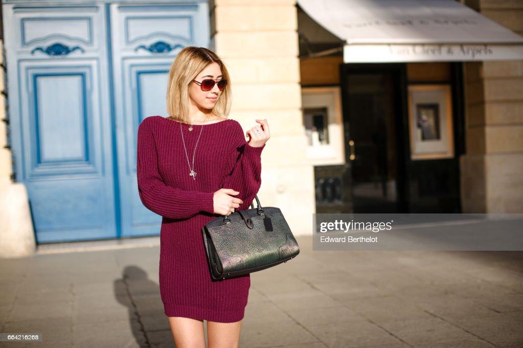 Street Style - Paris - April 2017 : News Photo