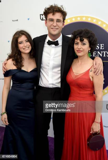 Bianca Diaz John Reynolds and Alia Shawkat attend Full Frontal With Samantha Bee's Not The White House Correspondents' Dinner at DAR Constitution...